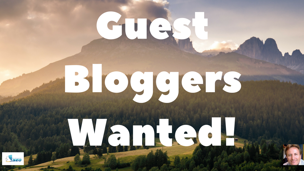 Guest Blogging- Guest Bloggers Wanted- Submit Your Guest
