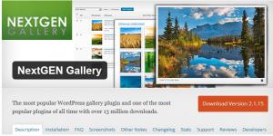nextgen-gallery-most-popular-wordpress-plugins