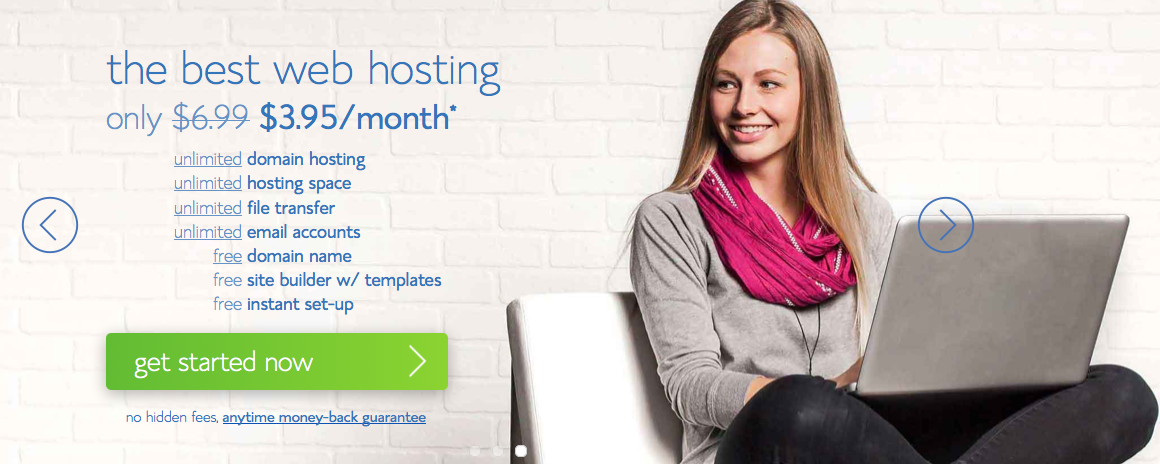 1-Homepage Bluehost