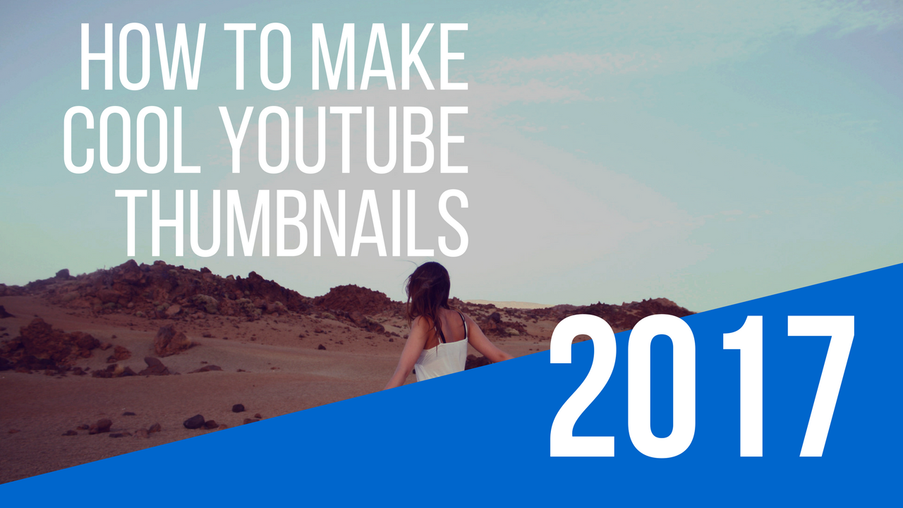 How to make youtube thumbnails with canva.com