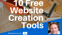 Free Website Creation Tools