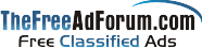 thefreeadforum free classified ads