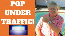 Pop Under Traffic